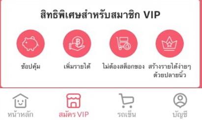 สิทธิพิเศษสำหรับสมัครสมาชิก VIP Youpik